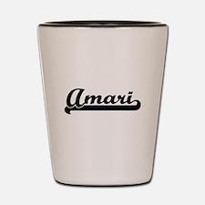 Amari Classic Retro Name Design Shot Glass