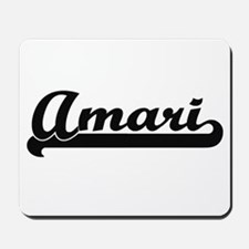 Amari Classic Retro Name Design Mousepad