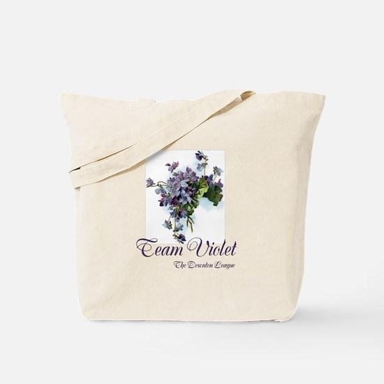 Team Violet Tote Bag