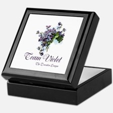 Team Violet Keepsake Box