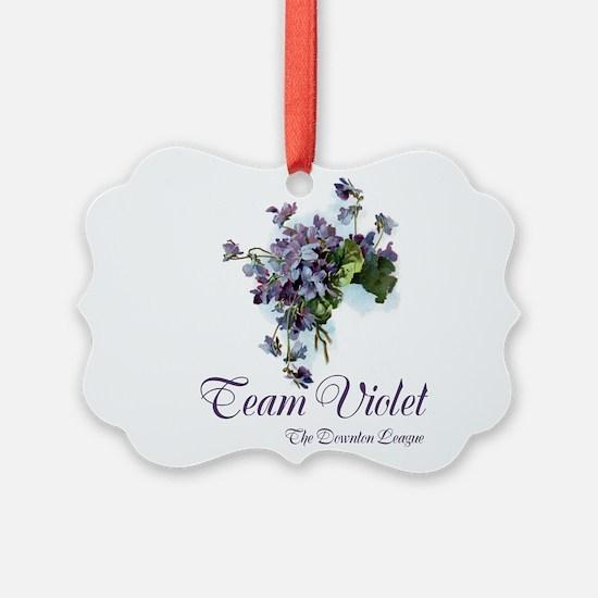 Team Violet Ornament