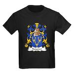 Rougier Family Crest Kids Dark T-Shirt