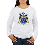 Rougier Family Crest Women's Long Sleeve T-Shirt