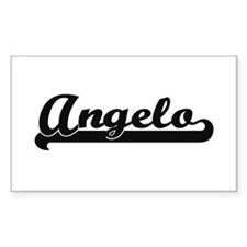 Angelo Classic Retro Name Design Decal