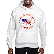 Proud American Firefighter Hoodie