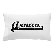Arnav Classic Retro Name Design Pillow Case