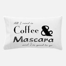 Coffee & Mascara Pillow Case