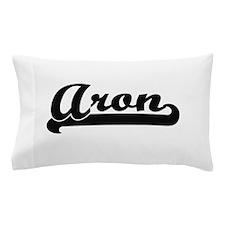 Aron Classic Retro Name Design Pillow Case