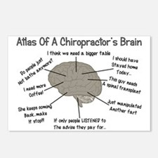 Chiropractor Humor Postcards (Package of 8)