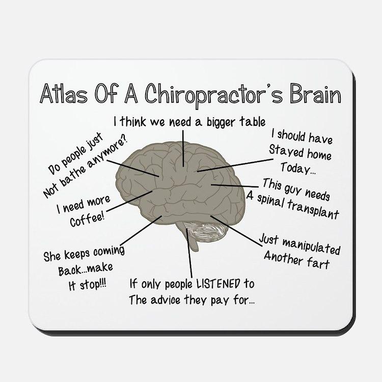 Chiropractor Humor Mousepad