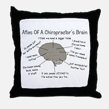 Chiropractor Humor Throw Pillow