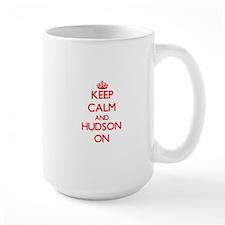 Keep Calm and Hudson ON Mugs
