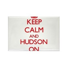 Keep Calm and Hudson ON Magnets