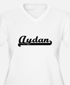 Aydan Classic Retro Name Design Plus Size T-Shirt