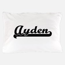 Ayden Classic Retro Name Design Pillow Case
