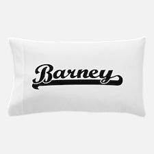 Barney Classic Retro Name Design Pillow Case