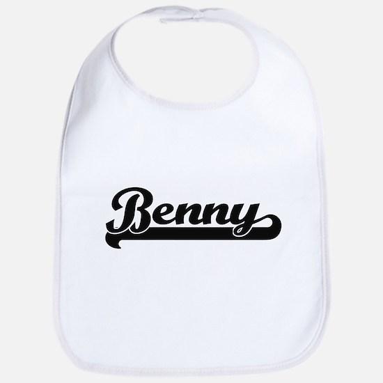 Benny Classic Retro Name Design Bib