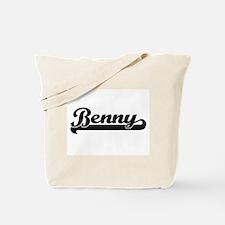 Benny Classic Retro Name Design Tote Bag