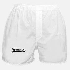 Benny Classic Retro Name Design Boxer Shorts