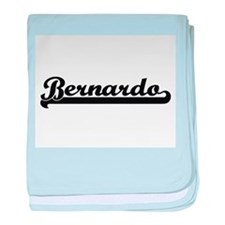 Bernardo Classic Retro Name Design baby blanket