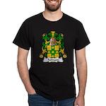 Romain Family Crest Dark T-Shirt