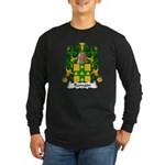 Romain Family Crest Long Sleeve Dark T-Shirt