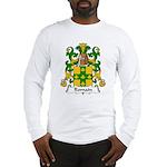 Romain Family Crest Long Sleeve T-Shirt