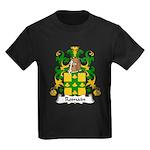 Romain Family Crest Kids Dark T-Shirt
