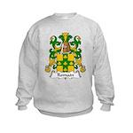 Romain Family Crest Kids Sweatshirt