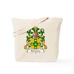 Romain Family Crest Tote Bag