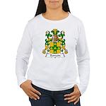 Romain Family Crest Women's Long Sleeve T-Shirt