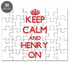 Keep Calm and Henry ON Puzzle