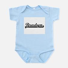Bradyn Classic Retro Name Design Body Suit