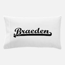 Braeden Classic Retro Name Design Pillow Case