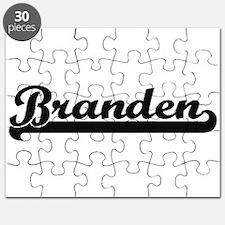 Branden Classic Retro Name Design Puzzle