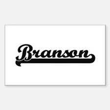 Branson Classic Retro Name Design Decal