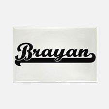 Brayan Classic Retro Name Design Magnets