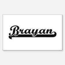 Brayan Classic Retro Name Design Decal