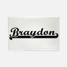 Braydon Classic Retro Name Design Magnets