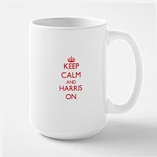 Keep Calm and Harris ON Mugs
