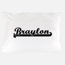 Braylon Classic Retro Name Design Pillow Case