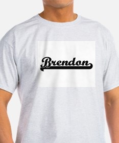 Brendon Classic Retro Name Design T-Shirt