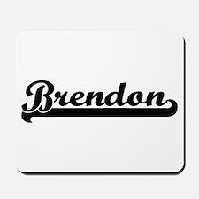 Brendon Classic Retro Name Design Mousepad