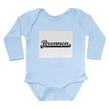 Brennen Classic Retro Name Design Body Suit