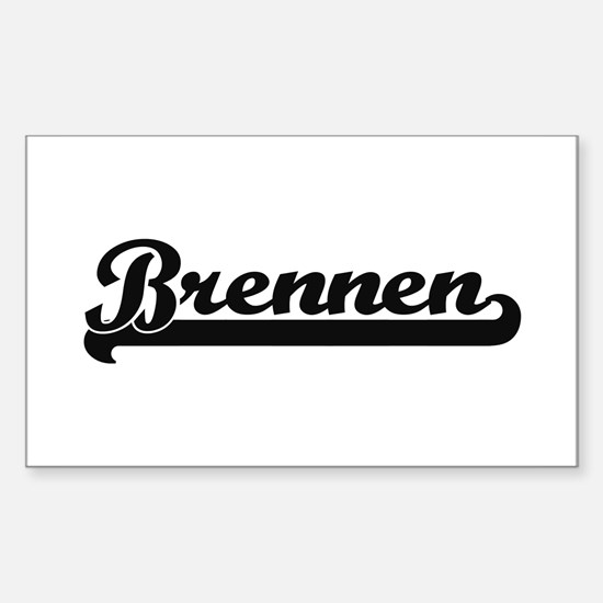 Brennen Classic Retro Name Design Decal