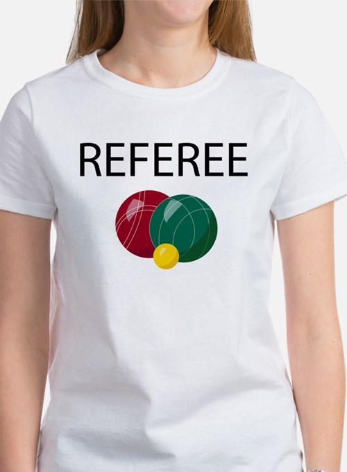 Bocce Ref Women's T-Shirt