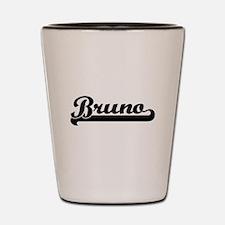 Bruno Classic Retro Name Design Shot Glass