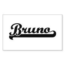 Bruno Classic Retro Name Design Bumper Stickers