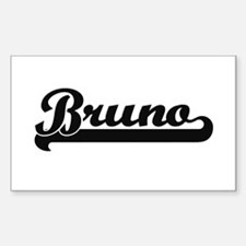 Bruno Classic Retro Name Design Decal