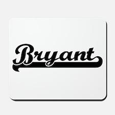 Bryant Classic Retro Name Design Mousepad